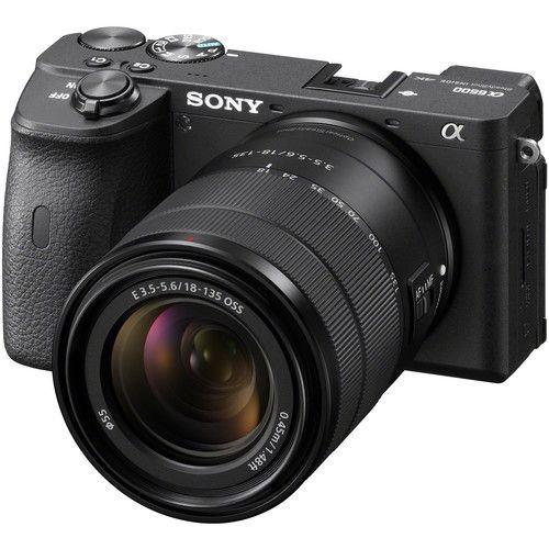 Sony Alpha a6600 Mirrorless Digital Camera with 18-135mm Lens (Black)