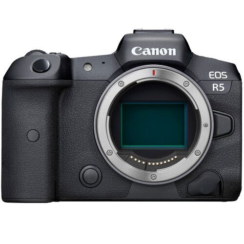 Canon EOS R5 Mirrorless Digital Camera with EF-EOS R Adapter