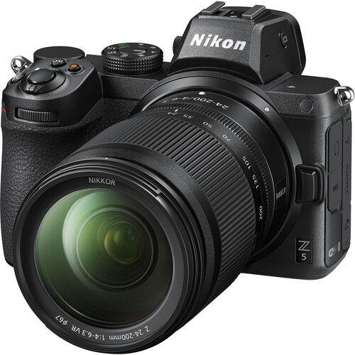 Nikon Z5 Mirrorless Digital Camera with Z 24-200mm Lens