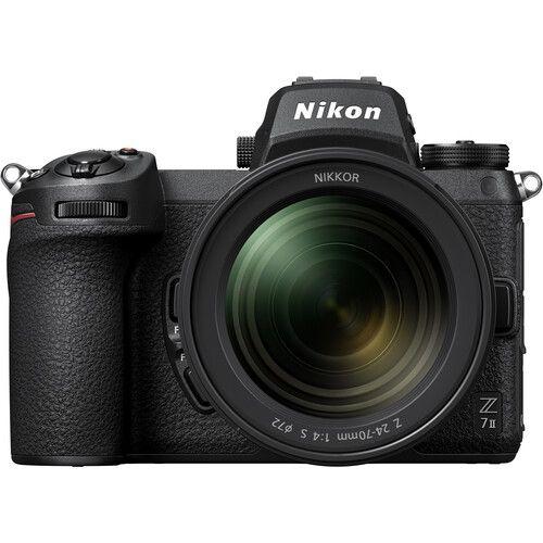Nikon Z7 II Mirrorless Digital Camera with 24-70mm f/4 Lens & Nikon FTZ Adapter