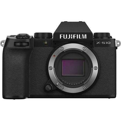 FUJIFILM X-S10 Mirrorless Digital Camera (Body Only, Black)