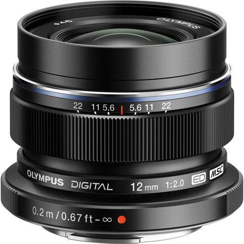 Olympus M. Zuiko Digital ED 12 mm f/2.0 Lens