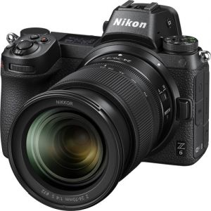 Nikon Z6 Mirrorless Digital Camera with 24-70mm f/4 Lens