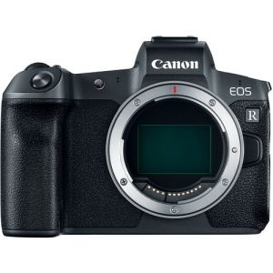 Canon EOS R Mirrorless Digital Camera (Body) with EF-EOS R Control Ring Mount Adapter