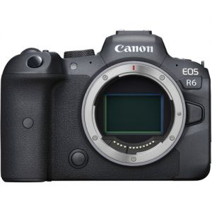 Canon EOS R6 Mirrorless Digital Camera with Canon EF-EOS R Control Ring Adapter