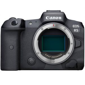 Canon EOS R5 Mirrorless Digital Camera with EF-EOS R Control Ring Adapter