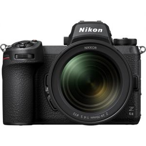 Nikon Z6 II Mirrorless Digital Camera with 24-70mm f/4 Lens & FTZ Adapter Kit